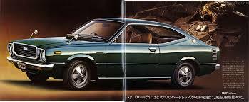 classic corolla toyota corolla 1974 hardtop e30 japanclassic