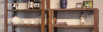 Single Shelf Bookcase Single Bookcases Solid Wood Howard Hill Furniture Pa De Nj