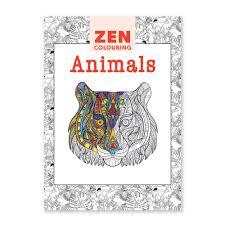 zen colouring animals natural history museum online shop
