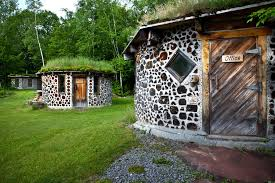 cordwood masonry gains new fans the new york times