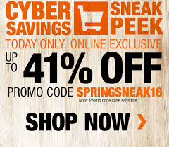 promo code spring black friday home depot home depot spring black friday sneak peek promo code inside