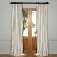 Silk Dupioni Curtains Linen Silk Curtains Drapes You Ll Wayfair