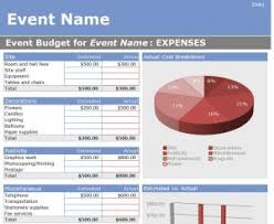 Event Budget Template Excel Event Budget Template Cyberuse