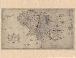 map from lord of the rings lord of the rings prop ebay