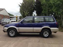 nissan terrano 1996 used 1997 nissan terrano ii 2 4i se 5dr for sale in worcestershire