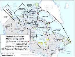 canadian map population distribution maps of sub populations of polar bears and protected areas canada ca