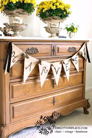 10 diy fall crafts banners banners and burlap