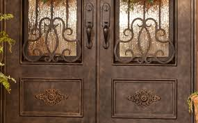 wrought iron front doors color wrought iron front