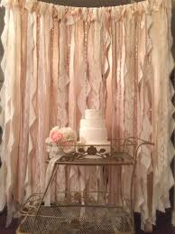 wedding backdrop gold best 25 ribbon backdrop ideas on hanging paper