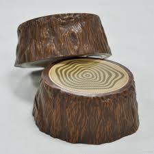 best retro portable tree stump shape bluetooth speaker wood stump