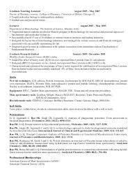 Undergraduate Student Resume Sample by Biology Student Resume Examples Contegri Com