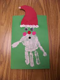 handprint christmas cards christmas lights decoration