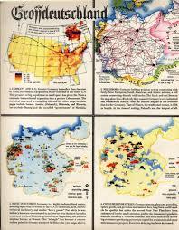 Wittenberg Germany Map by Vintage Infodesign 128 Visualoop