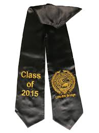 stoles graduation lvn bridge san joaquin county california black graduation stole