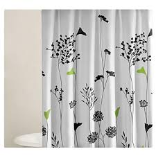 Grey Green Shower Curtain Black And Green Shower Curtain 100 Images 20 Best Shower