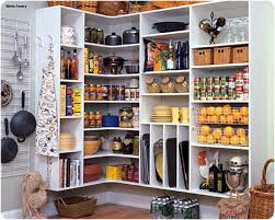 Pantry Shelving Ideas by Furniture Marvelous White Natural Wooden Style Corner In Walk In