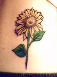 sunflower tattoo designs tatring