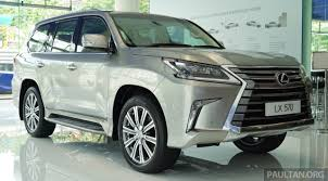2016 lexus lx 570 pricing gallery 2016 lexus lx 570 in malaysian showroom image 414954