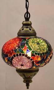 Turkish Chandelier Turkish Chandelier Lighting Multicolor Handmade Balls Moroccan