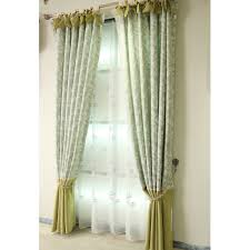 Emerald Green Curtain Panels by Emerald Green Patterned Linen Elegant Pastoral Curtains And Drapes