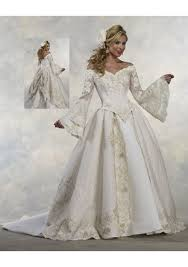 trumpet sleeve wedding dress s trumpet sleeve bridal gowns satin and lace portrait