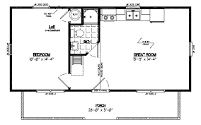 16 x 32 cabin floor plans with loft in addition 16 x 24 amish