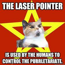 Laser Meme - the laser pointer is used cat meme cat planet cat planet