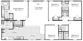 5 bedroom manufactured homes floor plans for 5 bedroom homes bedroom 5 bedroom modular homes