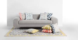 mustard yellow grey rug large wool geometric 160 x 230cm trio