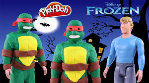 Ninja Turtle Halloween Costumes Frozen Play Doh Halloween Costume Kristoff Raphael Teenage