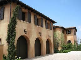 white stucco exterior interior design