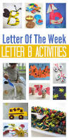 letter of the week letter b theme no time for flash cards
