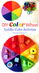 easy to make diy color activity for preschool u0026 toddlers natural