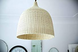Wicker Pendant Light Kouboo Wicker Pendant Light View In Your Room Rattan