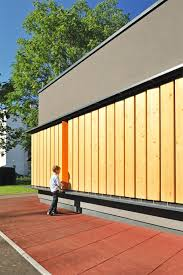 a colorful interactive facade was designed for this kindergarten