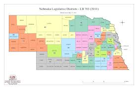 New York Area Code Map by Nebraska Legislature Maps Clearinghouse