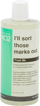 upholstery stain removal xo2 trust me rust stain remover for carpet upholstery xo2