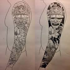 the 25 best japanese tattoo sleeve samurai ideas on pinterest