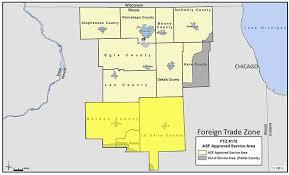 Dekalb Illinois Map by North Central Illinois Economic Development Corporation Foreign