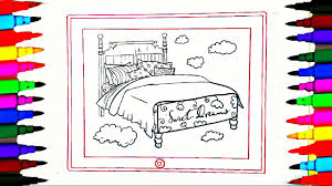 coloring pages rainbow bedroom on ipad l drawing pages to color