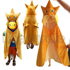 Charizard Halloween Costume Pokemon Center Mega Pikachu Charizard Hoodie Mantle Cloak Role