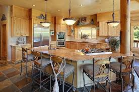 Galley Kitchens With Breakfast Bar Kitchen Rustic Kitchen Black Box Ceiling Galley Kitchen