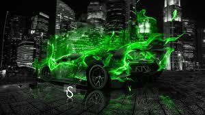 Lamborghini Veneno Green - lamborghini veneno back fire city car 2013 el tony