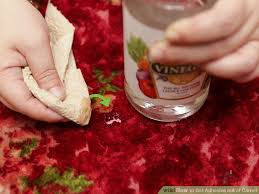 Get Nail Polish Out Of Rug 3 Ways To Get Adhesive Out Of Carpet Wikihow