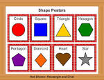 Printable Shape Activities