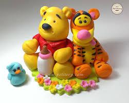 winnie the pooh cake topper baby winnie the pooh cake topper cake by petitery cakes cakesdecor