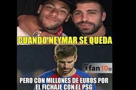 Neymar Memes - dinero y memes se burlan del barcelona porque neymar no se quedó
