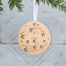 family constellation christmas tree decoration by betsy benn