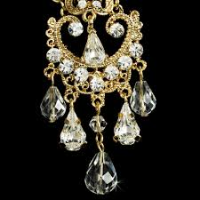 chandelier wedding earrings vintage wedding chandelier earrings bridal hair