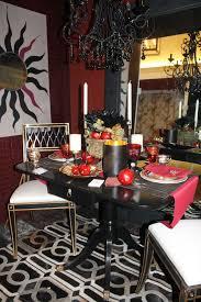 Burgundy Dining Room New York Design Blog Material Girls New York Interior Design